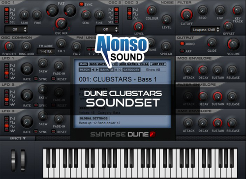 Alonso Dune Clubstars Soundset