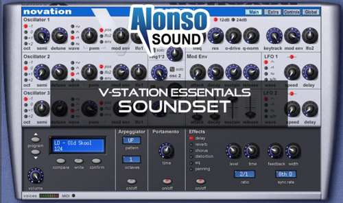 Alonso V-Station Essentials Soundset