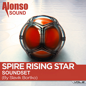 Alonso Spire Rising Star Soundset Vol. 2